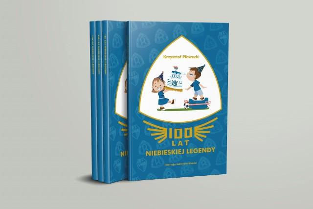 """Książka """"100 lat Niebieskiej Legendy"""" jest już w sprzedaży.  Zobacz kolejne zdjęcia. Przesuwaj zdjęcia w prawo - naciśnij strzałkę lub przycisk NASTĘPNE"""