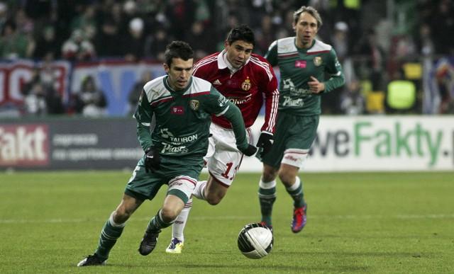 Waldemar Sobota zdobył gola dla piłkarskiej reprezentacji Polski