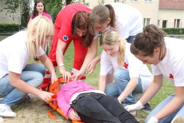Zawody ratowników w Namyslowie