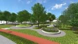 Będzin. Deszczowe ogrody, nowy plac przed biblioteką i ścieżka dla rowerzystów. Takie atrakcje wkrótce nad bulwarami Czarnej Przemszy