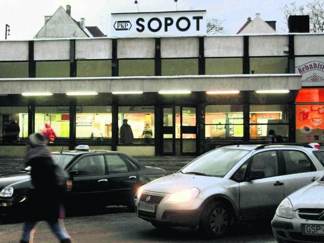 Na razie sopocki dworzec nie jest wizytówką miasta