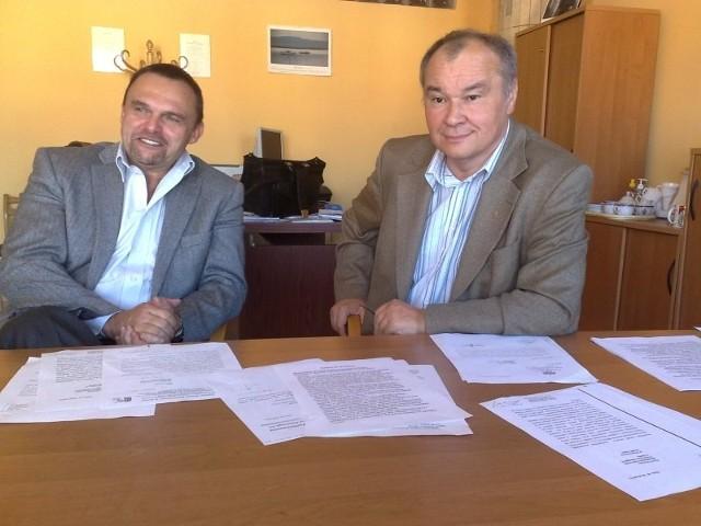 Rajmund Miller (z lewej) przejmie od Norberta Krajczego rolę lobbysty nyskich inwestycji. To jedyny poseł z zachodniej części województwa.