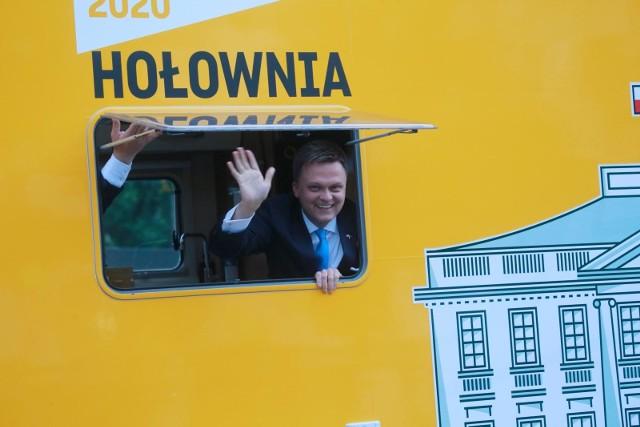 Szymon Hołownia zajął trzecie miejsce w wyborach prezydenckich.