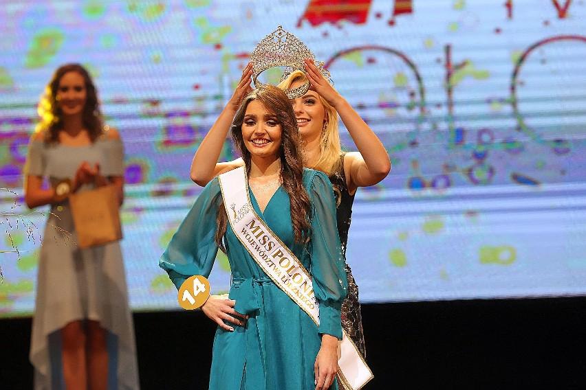 Klaudia Plesiak została Miss Polonia 2020 województwa łódzkiego. Gala finałowa konkursu Miss Polonia w Łodzi.