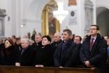 Starachowice: Kaczyński, Morawiecki, Szydło, Kuchciński na mszy świętej w intencji Jadwigi Kaczyńskiej [ZDJĘCIA]