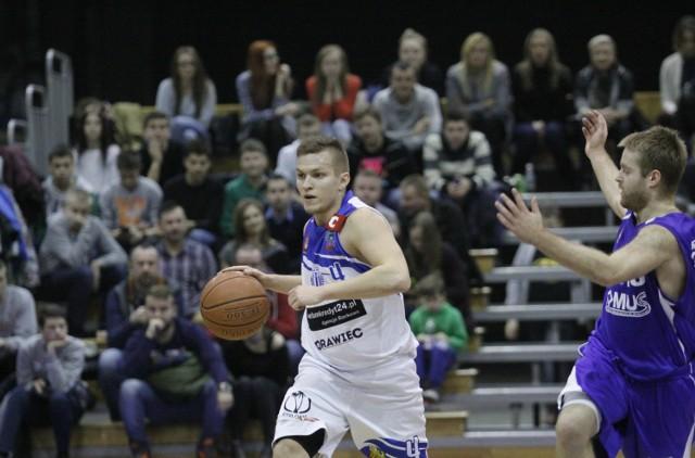 Kapitan drużyny Pogoni Krzysztof Chmielarz.