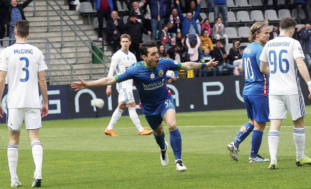 Joan Roman strzelił hat-tricka w wewnętrznym sparingu Miedzi Legnica