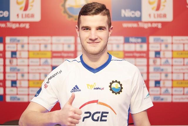Ziga Skoflek został nowym piłkarzem Stali Mielec
