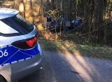 Śmiertelny wypadek na drodze relacji Bargłów Kościelny - Tajno Stare. Nie żyje 22-latka