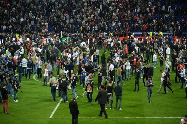 Czwartkowe zamieszki przyniosły kary obu drużynom