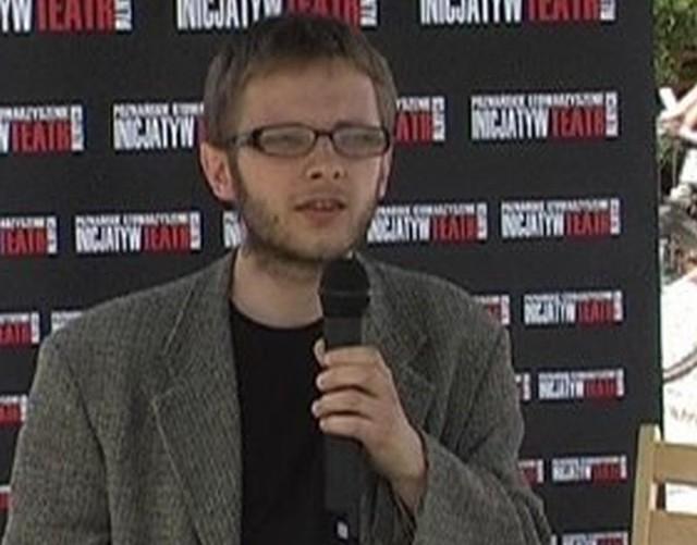 """Adam Ostolski, redaktor """"Krytyki Politycznej""""."""