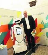 Robot EuGenius będzie promował Legnicę