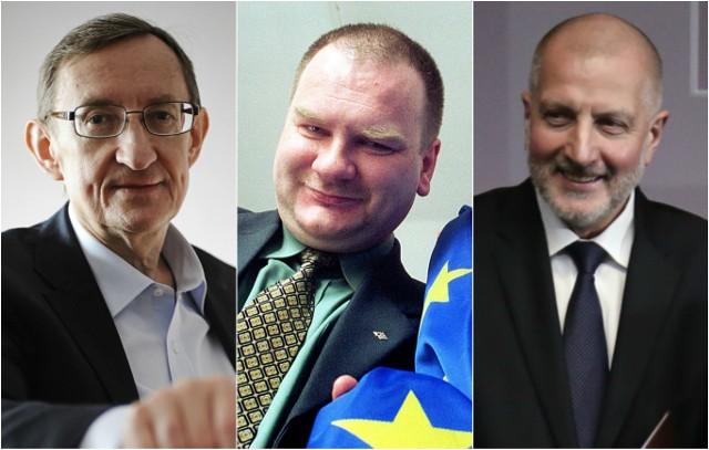 Józef Pinior, Jarosław Wardęga i Rafał Dutkiewicz