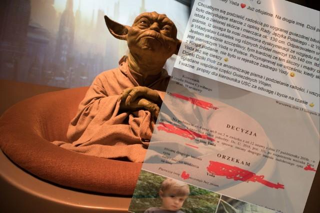 Nazwali dziecko... Yoda