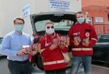 Dary dla medyków z Grudziądza przekazał Polski Czerwony Krzyż [zdjęcia]