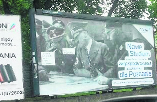 Twórców plakatu z Hitlerem będzie ścigać prokuratura