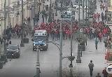 Kibole ŁKS zaatakowali widzewiaków. Incydent nagrała kamera monitoringu FILM