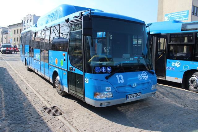 Obecnie po ulicach Chrzanowa jeżdżą autobusy zasilane gazem CNG