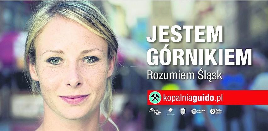 Jeden z billboardów promujących zabytkową kopalnię Guido w Zabrzu. Podoba Wam się?