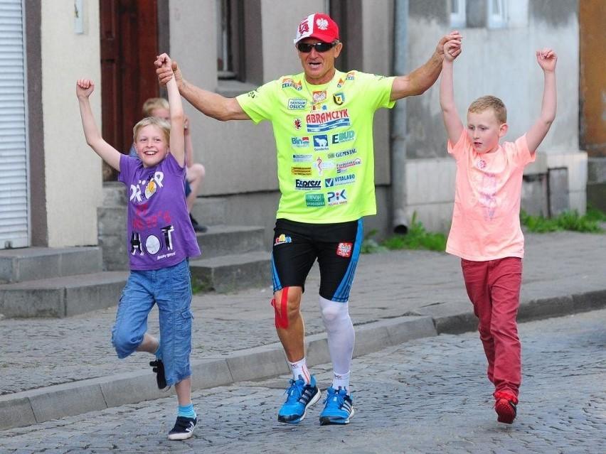 Andrzej Urbaniak, znany bydgoski ultramaratończyk, w hołdzie...