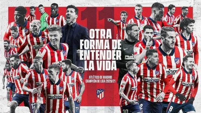 Atletico Madryt mistrzem Hiszpanii w sezonie 2020/2021