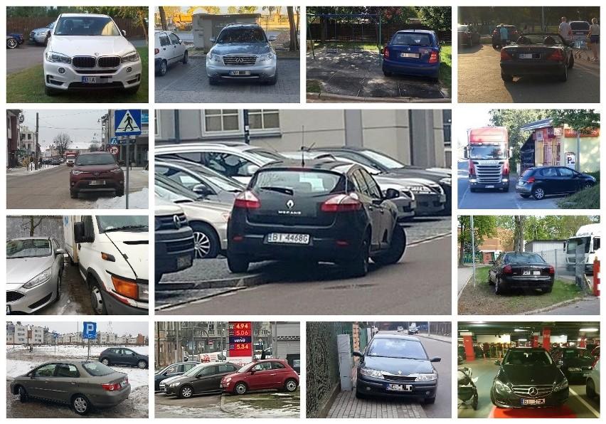 Nieprawidłowe parkowanie w Białymstoku to prawdziwa plaga....