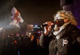 Strajk Kobiet na Pomorzu 07.11.2020. Gdańsk - przeciw orzeczeniu Trybunału Konstytucyjnego na Placu Solidarności protestowało około 400 osób