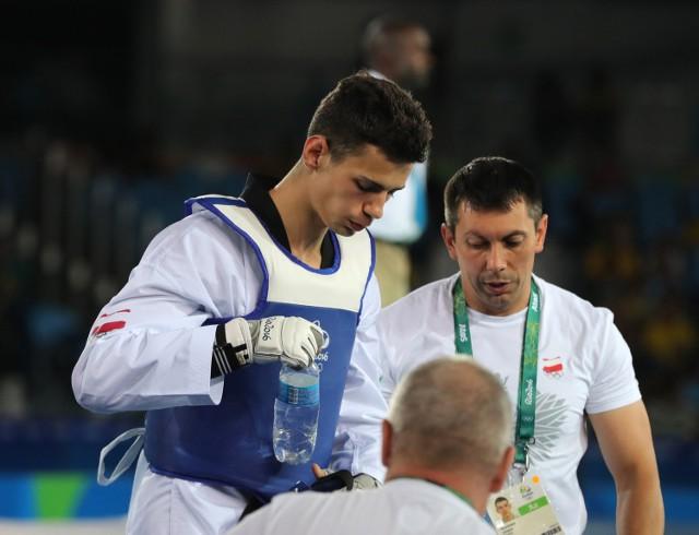 Karol Robak z AZS Poznań przegrał w ćwierćfinale