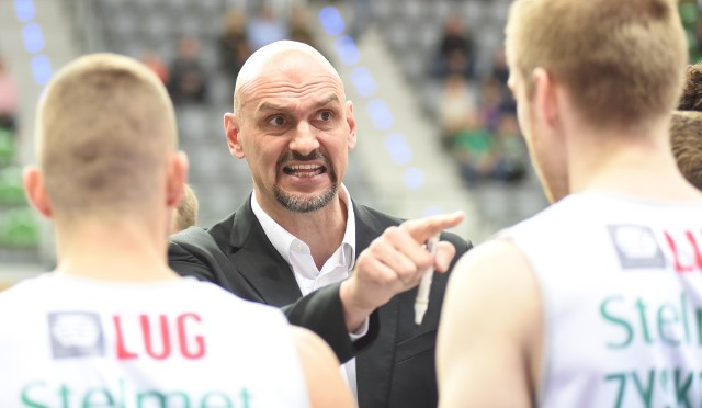 Žan Tabak powtarza, że siła tkwi w zespole i świetnie sprawdza się jako trener Stelmetu Enei BC Zielona Góra