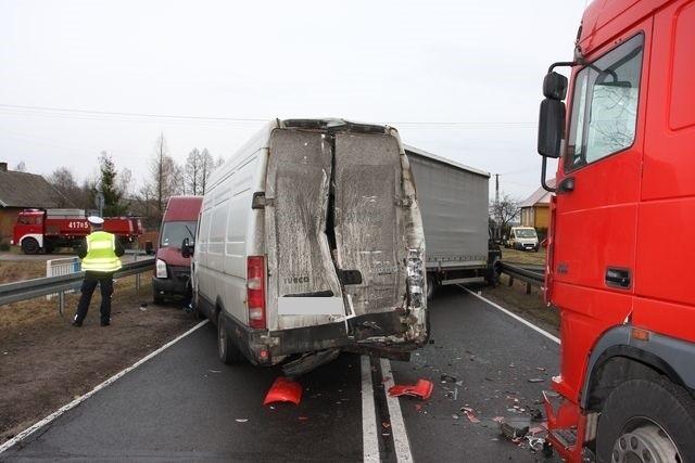 Wypadek na DK 19 w m. Haćki