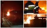 Czarna Białostocka. Pożar i wybuchy butli z gazem wstrząsnęły miejscowością. Łunę było widać z wielu kilometrów (zdjęcia)