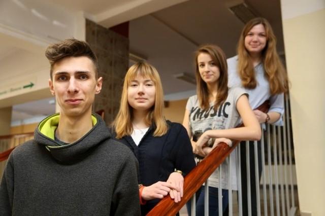 Krzysztof Żałobiński, Marcelina Adamowicz, Paulina Oksiejczuk i Kamila Choroszewska odnieśli sukces na olimpiadzie o bankach