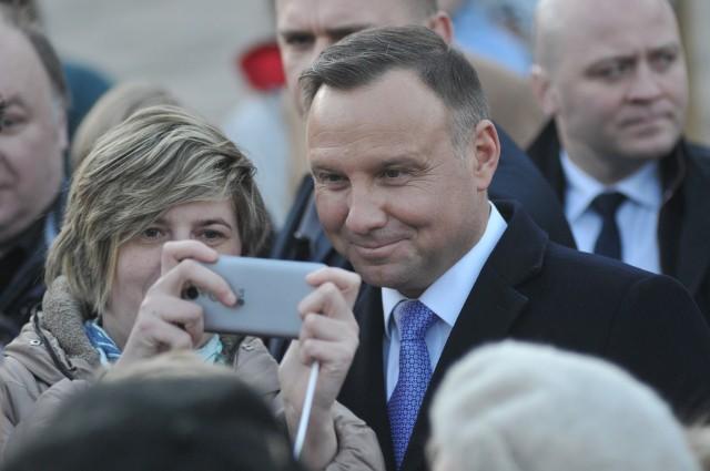 Wizyta prezydenta Andrzeja Dudy w Gorzowie Wlkp.