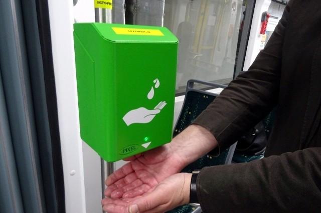 Automatyczny dezynfektor znajdzie się w każdym autobusie i tramwaju MPK w Poznaniu