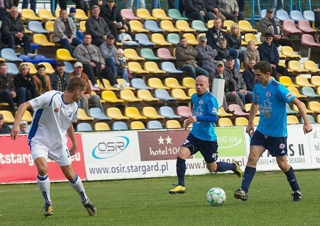 Błękitni nie przegrali ostatnich siedmiu spotkań i są coraz bliżej utrzymania w II lidze.