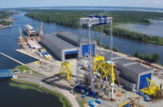 Szczecińska fabryka ST3 Offshore