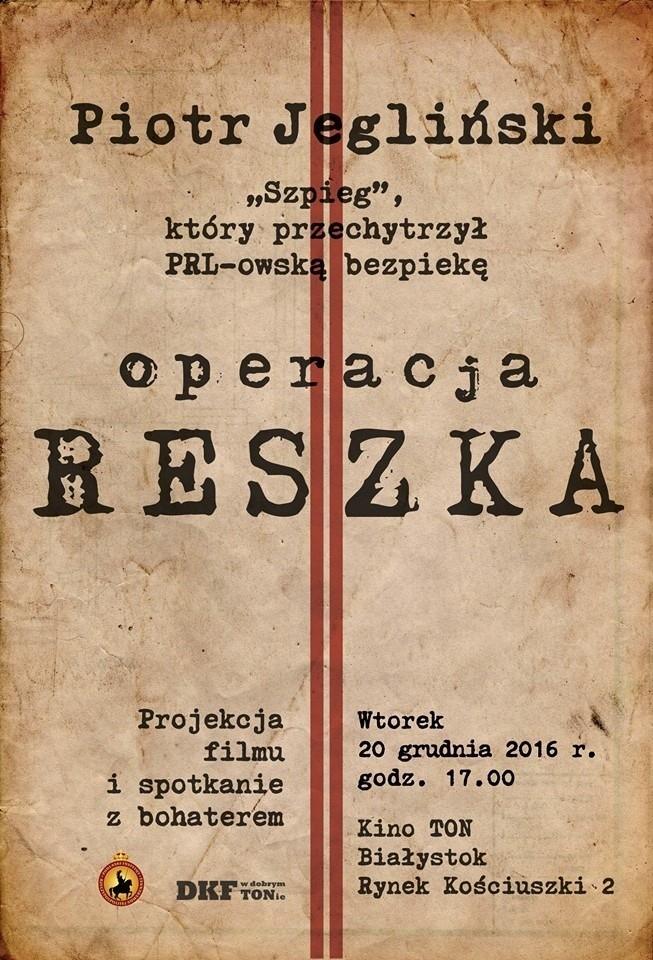 Piotr Jegliński w kinie TON w Białymstoku