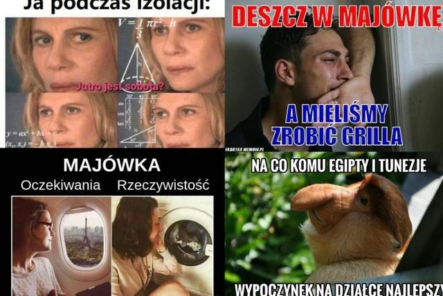 Najlepsze memy na majówkę 2021. Pandemia pokrzyżowała plany Polaków, Internauci tworzą memy
