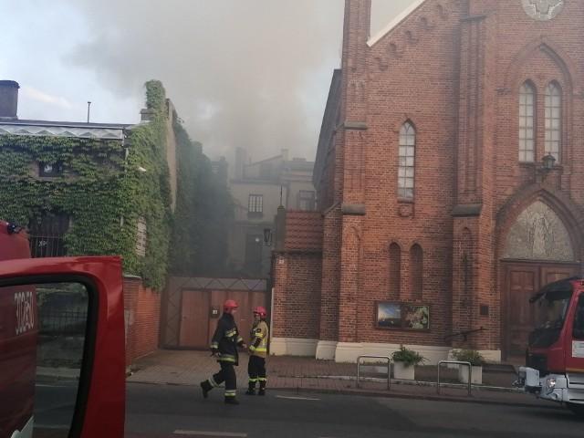 Pożar na Starym Polesiu