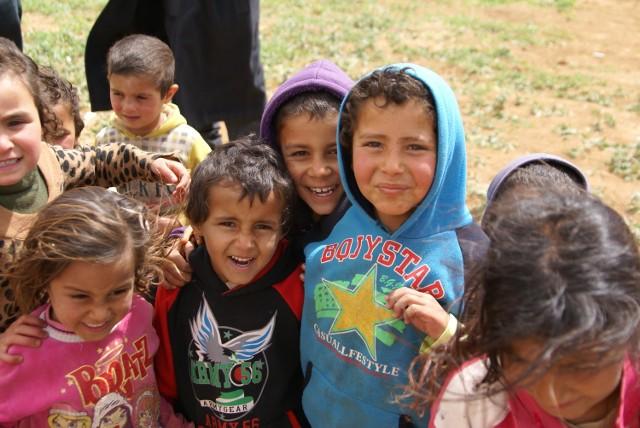 Pomysł pojawił się podczas wizyty w Jordanii w kwietniu tego roku. Sytuacja syryjskich dzieci jest tam bardzo zła...
