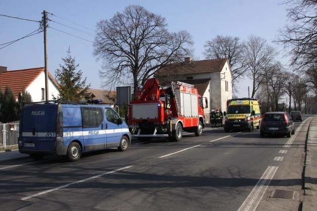 Do doszło w jednym z budynków mieszkalnych przy ul. Strzeleckiej w Opolu.