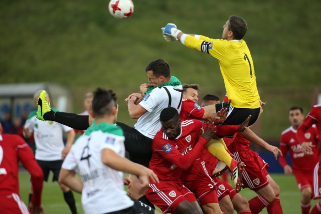 Gliwiczanie zagrali w Jastrzębiu w eksperymentalnym składzie poradzili sobie w Pucharze Polski z beniaminkiem Fortuna 1