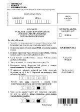 Egzamin gimnazjalny 2014. Język hiszpański poziom rozszerzony [ARKUSZE, ODPOWIEDZI]