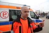Białystok. Załoga karetki pogotowia zatrzymała pijanego kierowcę i zabrała mu kluczyki. 41-latek miał 2,9 promila