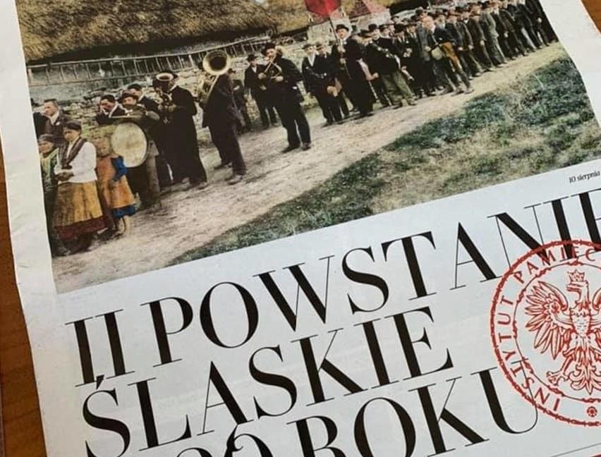 Dziś w DZ świetny dodatek na 100. rocznicę II Powstania Śląskiego przygotowany razem z Instytutem Pamięci Narodowej