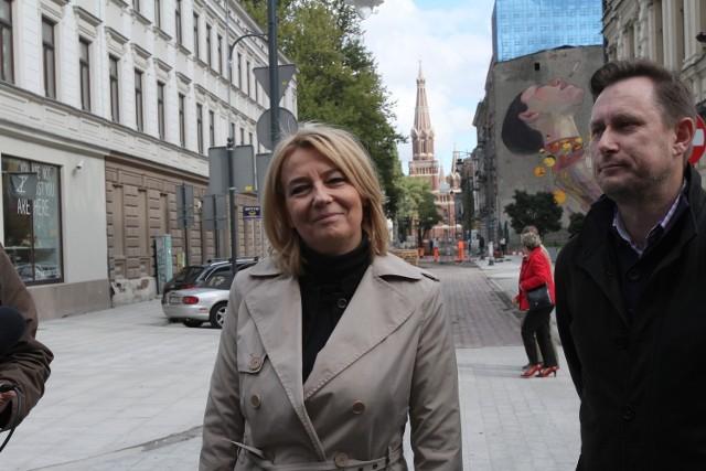 O liczbie głosów, Hanna Zdanowska poinformowała na niedzielnej konferencji prasowej