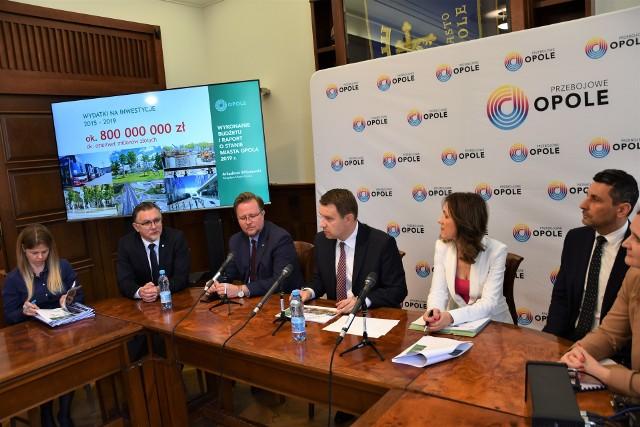 Władze Opola chwalą się wykonaniem budżetu za 2019 rok.