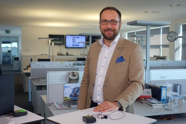 W @ZachodniGości Andrzej Truszczyński, właściciel grupy projektowej TKHolding, mówił o m.in. o planach budowy najwyższego biurowca na Śląsku
