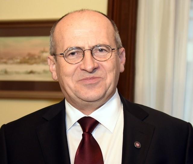 Zbigniew Rau, wojewoda łódzki.