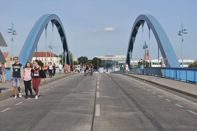 Most łączący Słubice i Frankfurt był już wcześniej zamykany dla ruchu samochodowego kilkukrotnie.